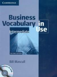 Business Vocabulary in Use. Intermediate - okładka książki