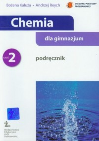 Chemia dla gimnazjum. Podręcznik cz. 2 - okładka podręcznika