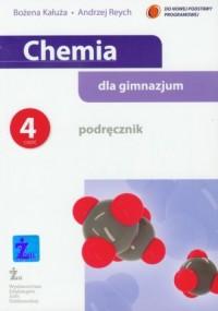 Chemia dla gimnazjum. Podręcznik cz. 4 - okładka podręcznika