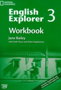 English Explorer 3. Workbook ( + 3 CD) - okładka podręcznika