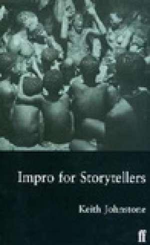 Impro for Storytellers - okładka książki