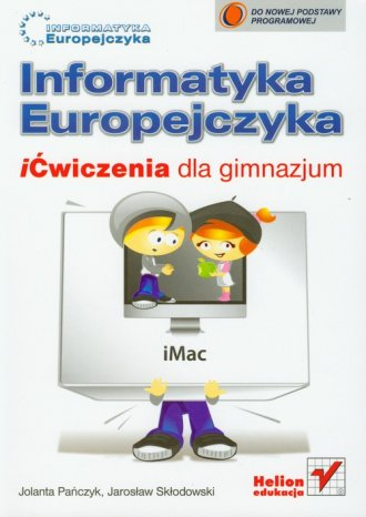 Informatyka Europejczyka. iĆwiczenia - okładka podręcznika