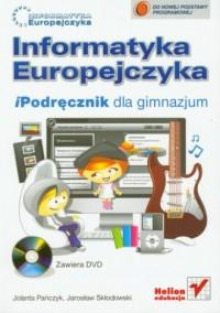 Informatyka Europejczyka. Podręcznik dla gimnazjum - okładka podręcznika
