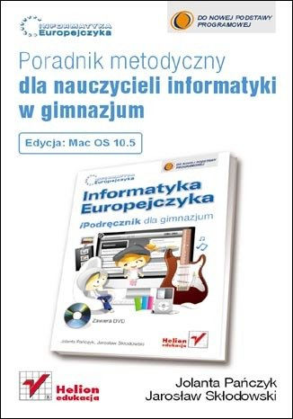 Informatyka Europejczyka. Poradnik - okładka podręcznika