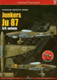 Junkers Ju 87 - okładka książki