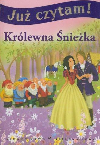 Już czytam! Królewna Śnieżka - okładka książki