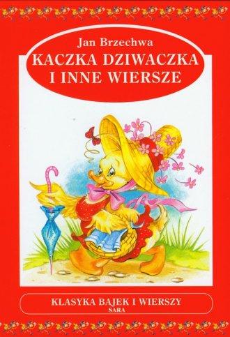 Kaczka-dziwaczka i inne wiersze - okładka książki