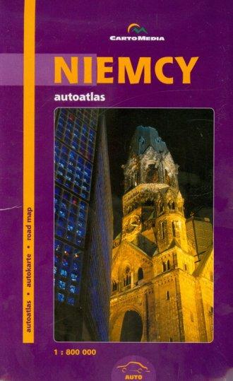 Niemcy (autoatlas 1:800 000) - okładka książki