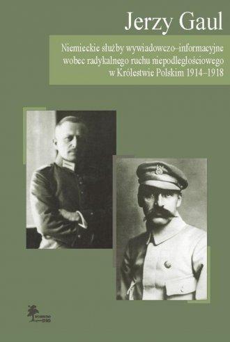 Niemieckie służby wywiadowczo-informacyjne - okładka książki