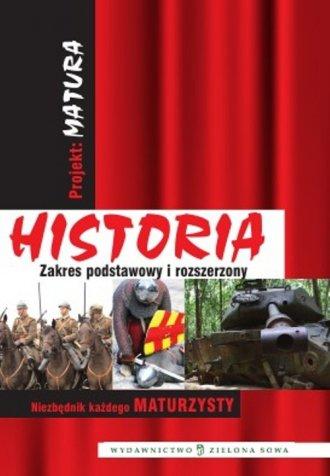 Projekt Matura. Historia - okładka podręcznika