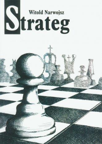 Strateg - okładka książki