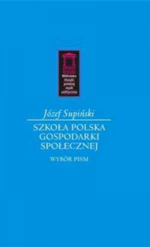 Szkoła polska gospodarki społecznej. - okładka książki