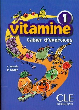 Vitamine 1. Ćwiczenia (+ CD) - okładka podręcznika