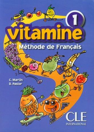 Vitamine 1. Methode de Francais. - okładka podręcznika