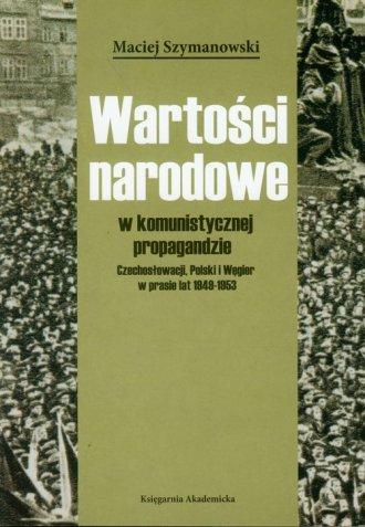 Wartości narodowe w komunistycznej - okładka książki