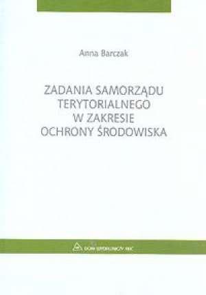 Zadania samorządu terytorialnego - okładka książki