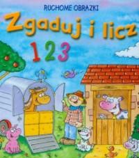 Zgaduj i licz 123. Ruchome obrazki - okładka książki