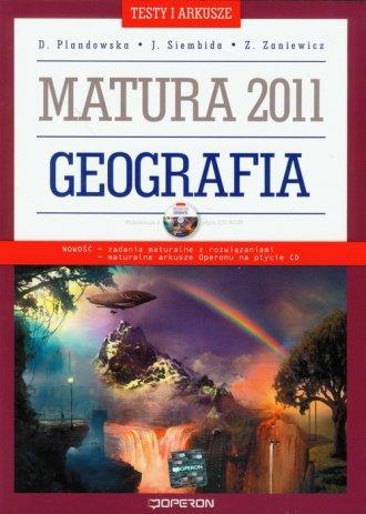Geografia. Matura 2011. Testy i - okładka podręcznika