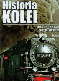 Historia kolei - okładka książki