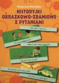 Historyjki obrazkowo-zadaniowe - okładka książki