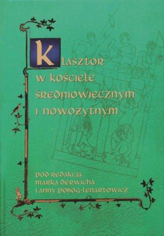 Klasztor w kościele średniowiecznym - okładka książki