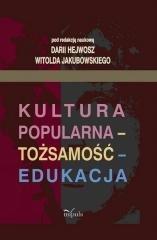 Kultura popularna - tożsamość - - okładka książki