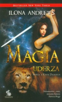 Magia uderza - okładka książki