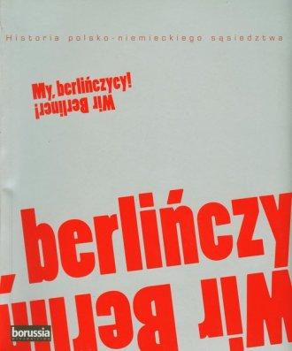 My berlińczycy / Wir Berliner - okładka książki