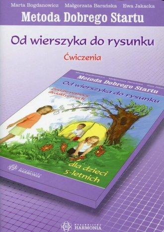 Od wierszyka do rysunku. Dla dzieci - okładka podręcznika