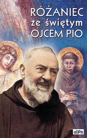 Różaniec ze świętym Ojcem Pio - okładka książki