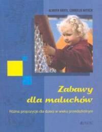 Zabawy dla maluchów - okładka książki