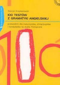 100 testów z gramatyki angielskiej - okładka podręcznika