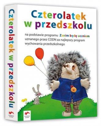 Czterolatek w przedszkolu (Opowiadania o Je�yku / Karty pracy cz. 1 / Karty pracy cz. 2 / �wiczenia matematyczne / Karty plastyczno-techniczne). KOMPLET