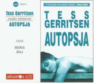 Autopsja (CD mp3) - pudełko audiobooku