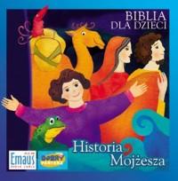 Biblia dla dzieci. Historia Mojżesza (CD-ROM) - pudełko audiobooku