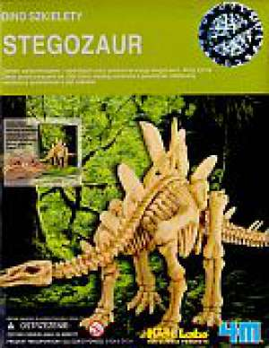 Dino szkielety. Stegozaur. Wykopaliska - okładka książki