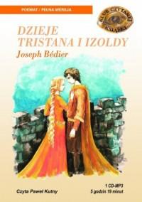 Dzieje Tristana i Izoldy (CD mp3) - pudełko audiobooku
