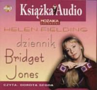 Dziennik Bridget Jones. Czyta: Dorota Segda (CD mp3) - pudełko audiobooku