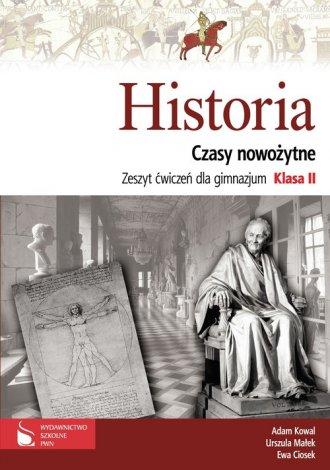 Historia. Czasy nowożytne. Klasa - okładka podręcznika
