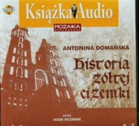Historia żółtej ciżemki (CD mp3) - pudełko audiobooku