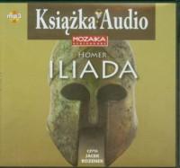 Iliada (CD mp3) - pudełko audiobooku