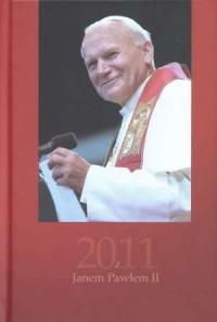 Kalendarz z Janem Pawłem II 2011 - okładka książki