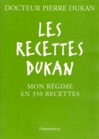 Les Recettes Dukan - okładka książki