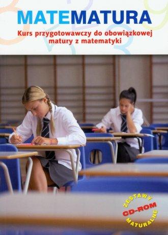 Matematura. Kurs przygotowawczy - okładka podręcznika
