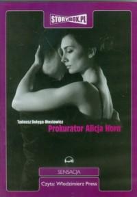 Prokurator Alicja Horn - pudełko audiobooku