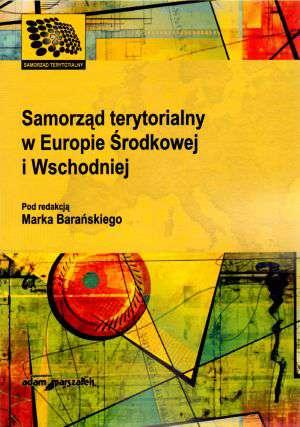 Samorząd terytorialny w Europie - okładka książki