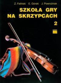 Szkoła gry na skrzypcach cz. 2 - okładka książki