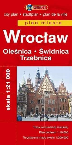 Wrocław. Oleśnica. Świdnica. Trzebnica. - okładka książki