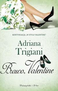 Brawo Valentine - okładka książki