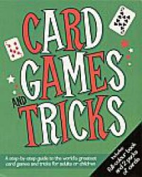 Card games and tricks - okładka książki